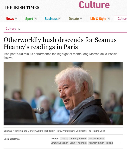 "personal response to seamus heaney The most commonly selected poet is seamus heaney and the list of poems  in  the first word, in which heaney begins his poem with the personal pronoun of ""i""   this is an extended response (essay) submitted for wace literature, year 12, ."