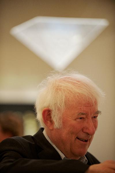 Irish poet Seamus Heaney