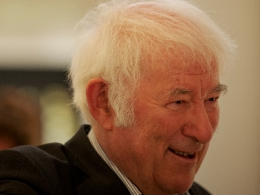Irish poet Seamus Heaney