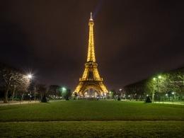 La Tour Eiffel, night
